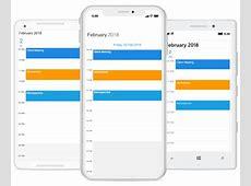 XamarinForms Scheduler Control Event Calendar Syncfusion