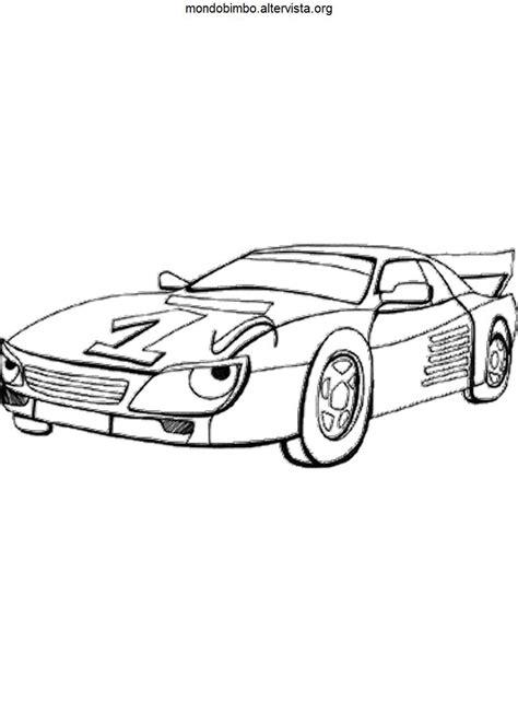 disegni da colorare macchine da corsa disegni macchine da corsa da colorare mondo bimbo