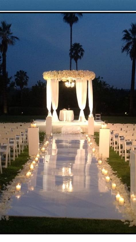 evening garden wedding ideas