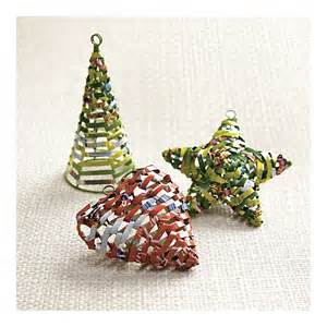 eco mama s guide to living green recycled christmas tree ornaments