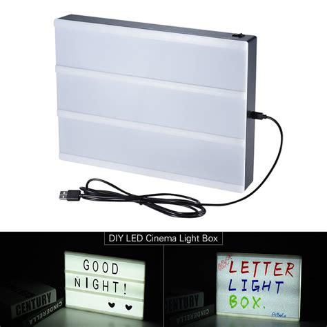 cinema box led light a5 size diy led cinema light box message board with sales
