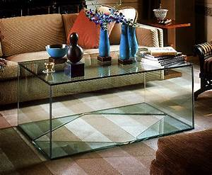 Glass cube coffee table bhr design group for Glass cube coffee table