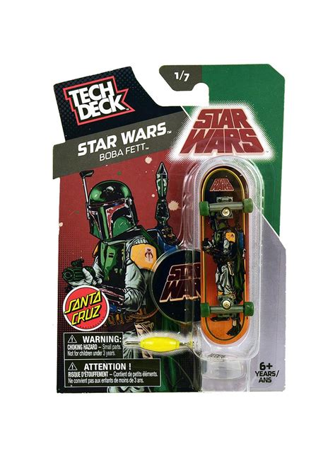 Tech Deck Star Wars Boba Fett Single Set  Fingerboards Uk