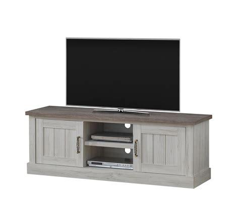 meuble tv bureau meuble tv contemporain chêne clair brun milena meubles