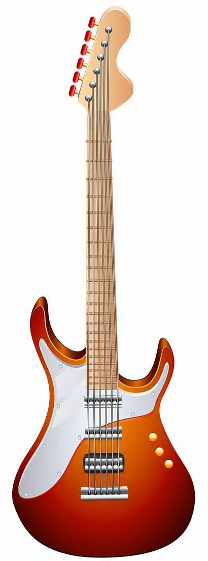 Guitar Transparent Clip Clipart Gitar Electric Ilustrasi