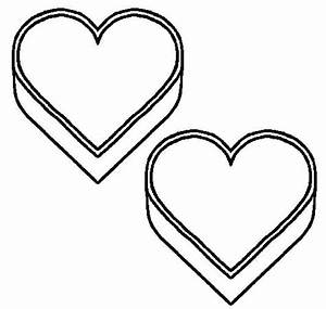 Printable Heart Coloring Pages   Coloring - Part 4