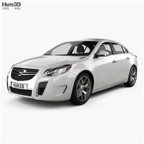 Opel Insignia Opc Sedan 2012 3d Model