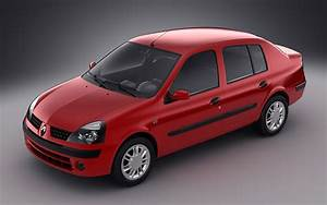 3d Model Renault Symbol 2004