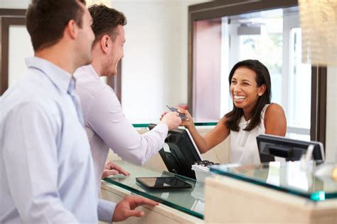 salon front desk jobs a day in the life of a hotel receptionist