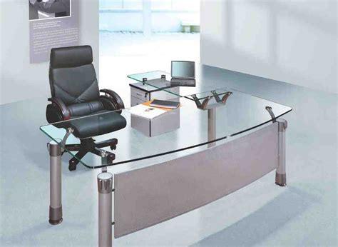 bureau desk glass office desk furniture decor ideasdecor ideas