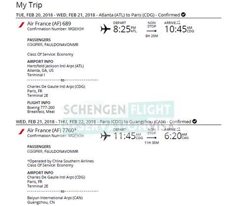 flight reservation  visa application  buying