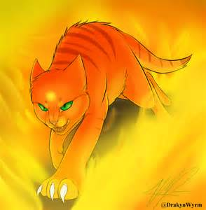 firestar warrior cats firestar speedpaint by drakynwyrm on deviantart