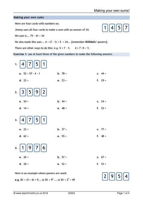 ks addition  subtraction teachit maths