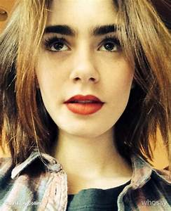 Lily Collins Twitter Instagram Whosay Personal Photos ...