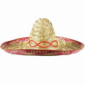 Mexican Style Amegio Sombrero Straw Hat Stag Night Fancy ...