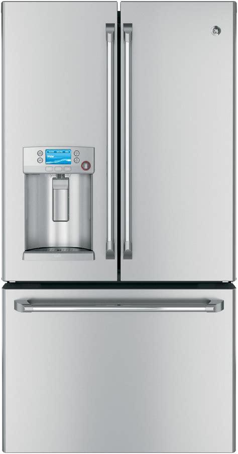 ge cafe counter depth refrigerator ge café cye23tsdss 23 1 cu ft counter depth