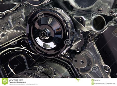 Automotive Engine Close Up Stock Photo. Image Of Motor