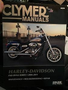Clymer Manual 2006 - 2011 Fxd Dyna Series