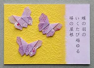 Origami Butterfly Atc  3