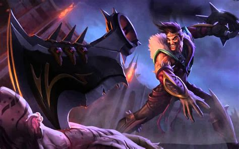 Darius Animated Wallpaper - draven live wallpaper dreamscene android lwp