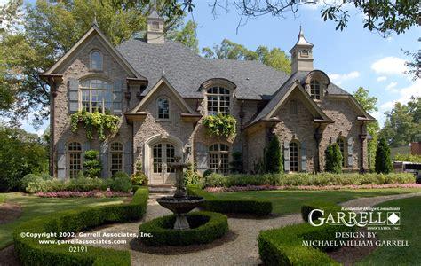 Chateau Lafayette House Plan 02191 Garrell Associates