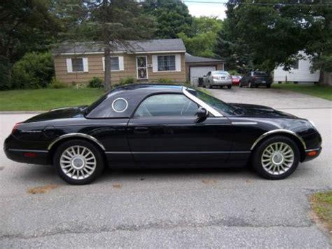 find   ford thunderbird premium convertible