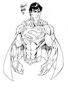 New 52 Superman Coloring Pages