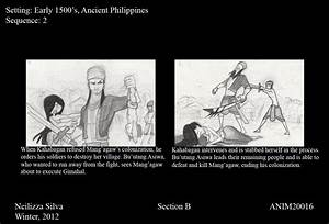 WTF: Ancient Philippines storyboard