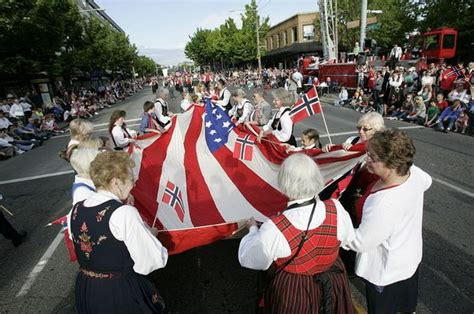 portland norwegians celebrate syttende mai norways