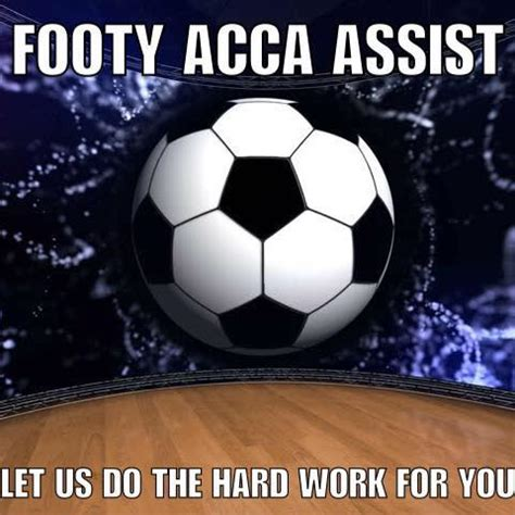 Footy Acca Assist - Home | Facebook