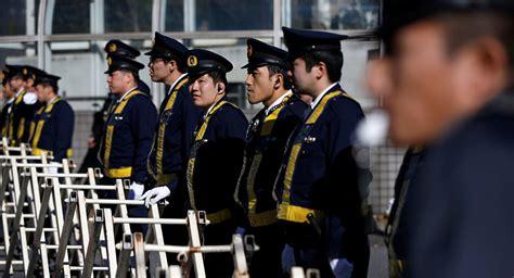 Japan's Police Enhance Security In Tokyo Ahead Of Putin