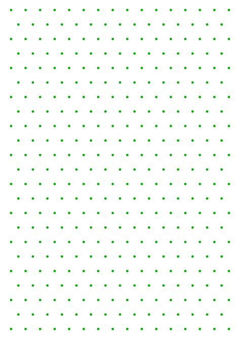 isometric color dot graph paper