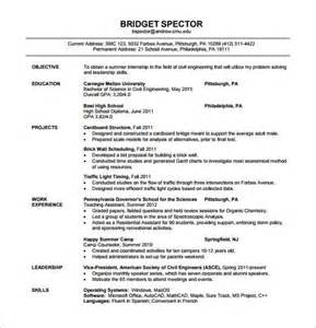 resume fresher electrical engineer resume template for fresher 10 free word excel pdf