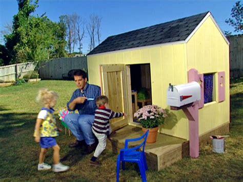 plans easy playhouse diy  fine timber clock