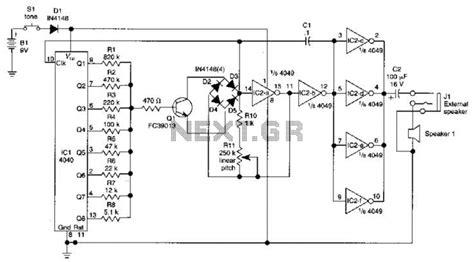 Sound Effects Generator Circuit Under Musical