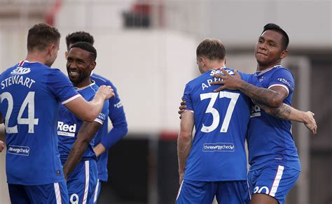 Rangers Player Ratings Vs Lincoln Red Imps: Morelos ...