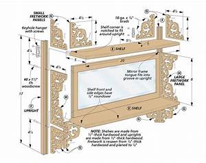 Fretwork Wall Shelf