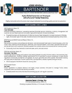 bartender resume no experience http jobresumesample With free bartender resume templates