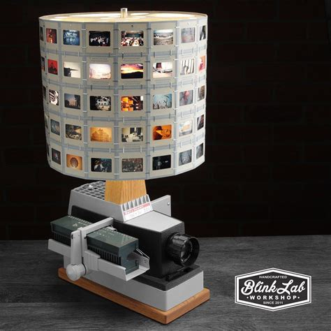 Projector Lamp With Photographic Slide Shade From Blinklab On Etsy Lighting In 2019