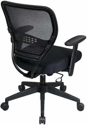 office air grid deluxe mesh task chair black 5500