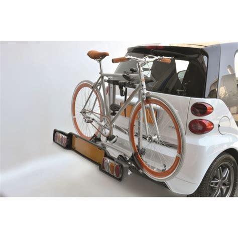 porta bici auto portabici posteriore peruzzo smart rack delux smart fortwo