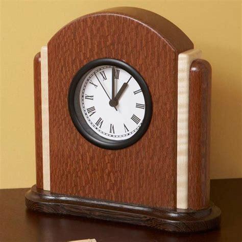 art deco clock woodworking plan  wood magazine