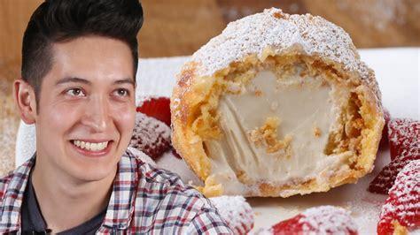 ice cream fried deep behind tasty treats healthy cookeryshow