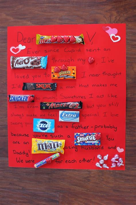 Mother's day candy bar poster, source. Love. Create. Celebrate. : Chocolate Bar Love Letter ...