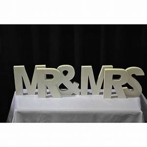 a to z white block letters helium balloons and event hire With mr mrs block letters