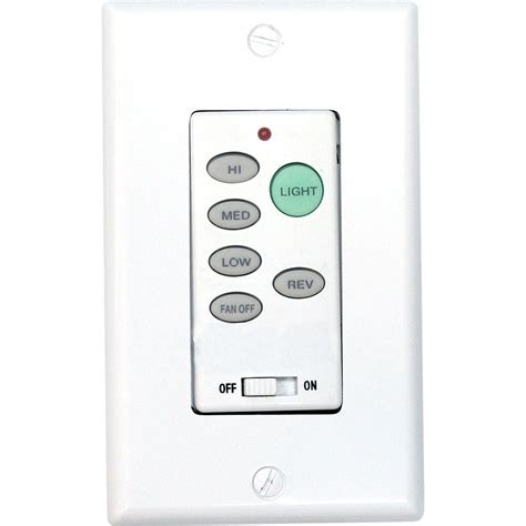 remote control switches for lights and fans hton bay universal ceiling fan wireless wall control