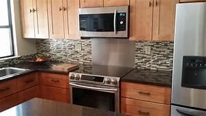idees de decoration cuisine smart tiles With carrelage adhesif salle de bain avec smart led lights