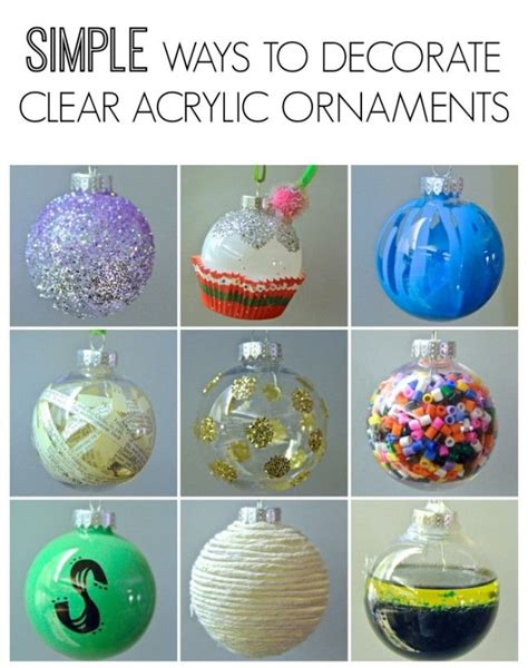 25 best ideas about clear ornaments on pinterest clear