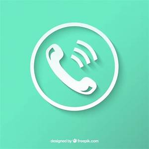 Telephone Icon Vector Free Download | www.imgkid.com - The ...