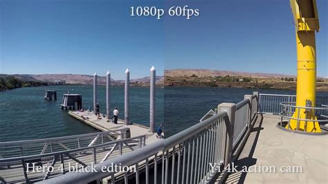 Yi 4k Action Cam Vs Hero 4 Black Image Stabilization